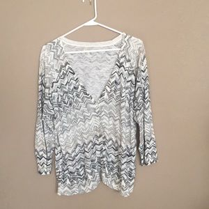 Light cardigan sweater